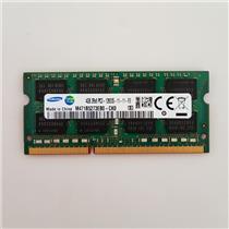 Samsung 4GB PC3-12800 DDR3-1600 non-ECC Unbuffered Laptop RAM M471B5273EB0-CK0