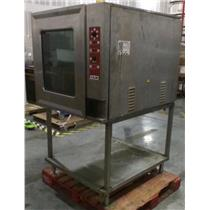 Vulcan Model VCE10F Steamer Convection Oven - UNTESTED MISSING PARTS