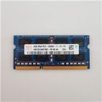 Hynix 4GB PC3-12800 DDR3-1600 non-ECC Unbuffered Laptop RAM HMT351S6EFR8C-PB