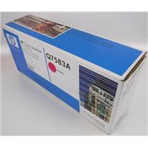 NEW Genuine OEM HP Color Laserjet Q7583A Magenta Toner Cartridge
