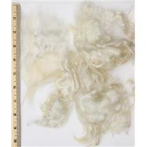 "3"" -7"" satiny high luster  curly - wavy washed fine mohair 1 oz doll hair  26632"