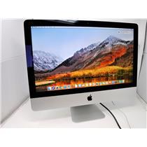 Apple iMac 21.5″ Core i5, 2.7GHz Nvidia GT 640M 8GB 1TB Wifi A1418 High Sierra