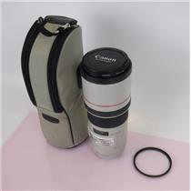 Canon Ultrasonic Lens EF 300mm 1:4 L Image Stabilizer with 2x Filters and Case