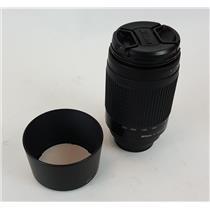 Nikon AF Nikkor 70-300 mm 1:4-5.6 G Camera Lens w HB-26 Lens Hood