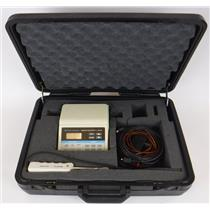 Barnant Temperature / Humidity Logger 691-9000 with Probe & Case - WORKING