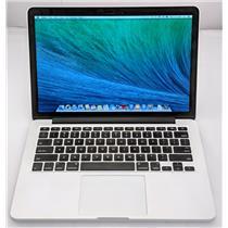 "Apple Macbook Pro ME864LL/A 13.3"" i5-4258U 2.4GHz 128GB SSD 8GB OS X 10.9.5"