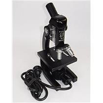 Parco Scientific Monocular Optical Microscope with 3x Objective Lenses - WORKING