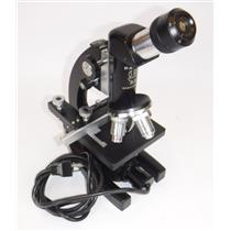 Parco Scientific Monocular Optical Microscope with 4x Objective Lenses - WORKING