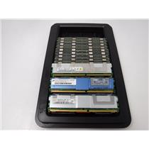 LOT OF 20 MIXED BRAND 2GB PC2-5300F SERVER MEMORY