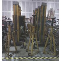 Lot Of 6 SEFAC 7.5T Capacity Column Lifts And 7 SEFAC 15T Capacity Jack Stands