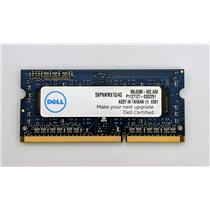 Dell 4GB PC3L-12800 DDR3-1600 non-ECC Unbuffered Laptop RAM SNPNWMX1G/4G