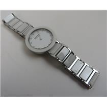 Bering 11429-754 White Dial W/ Ceramic & Stainless Steel Band 5ATM Womens Watch