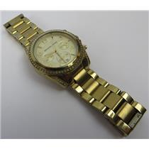 Michael Kors MK-5166 Blair Gold-Tone Dial W/ Gold Tone Band 10ATM Women's Watch