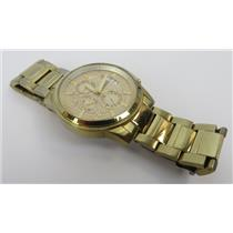 Guess U0075G5 Gold-Tone Dial With Gold-Tone Stainless Steel Band Men's Watch