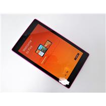 """Amazon Kindle Fire HD 8 5th Gen SG98EG 8"""" Android Tablet 8GB Wi-Fi Only -MAGENTA"""