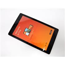 "Amazon Kindle Fire HD PR53DC 6th Generation  8"" Wifi Tablet 16 GB SSD BLACK"