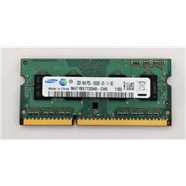Samsung 2GB PC3-10600 DDR3-1333 non-ECC Unbuffered SODIMM 1.5V M471B5773DH0-CH9