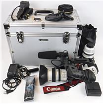 Canon DM-XL1S 3CCD Mini DV Digital Video Camera Camcorder - WORKING