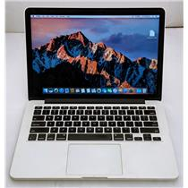 "Apple Macbook Pro MF839LL/A 13.3"" i5-5257U 2.7GHz 128GB SSD 8GB OS Sierra 10.12"