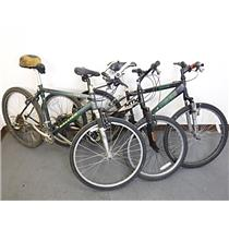 Lot of 3 Bicycles Raleigh Schwinn MTX LOCAL PICKUP - FOR PARTS