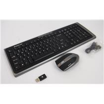Iogear GKM551R Long Range Media Center Desktop Wireless Keyboard & Mouse Combo