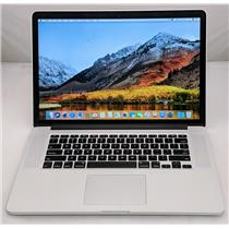 "Apple Macbook Pro MJLQ2LL/A 15"" i7-4770HQ 2.2GHz 512GB SSD 16GB GRADE D"