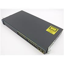 Cisco Catalyst 2960 Series 24 Switch WS-C2960-24TC-L V02 Rackmount Switch