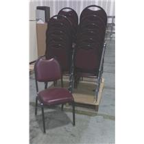 Lot of 23 Virco M-8915 Stackable Vinyl Padded Seat Chairs