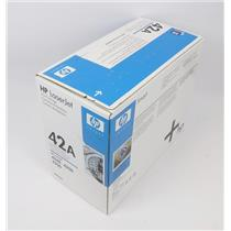 NEW Genuine OEM HP Color Laserjet Q5942A Black Toner Cartridge