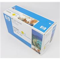 New Genuine OEM HP Color Laserjet C9722A Yellow Toner Cartridge
