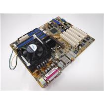 Asus P4P800-E  Deluxe Socket 478 Desktop Motherboard w/ Intel Pentium 4 @3.2GHz