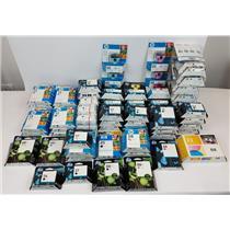 Lot of 83 Assorted Genuine OEM HP Ink Cartridges Expired