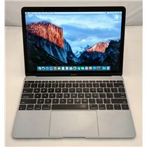 "Apple Macbook Core M MF865LL/A 12"" M-5Y51 1.2GHz 512GB SSD 8GB Intel HD 5300"