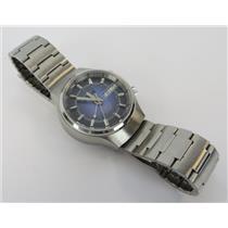 Oriosa Swiss Automatic 25 Jewels Unisex Silver-Tone Watch W/ Purple Dial