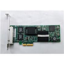 Dell Intel PRO/1000 ET Quad Port Network Card CWKPJ PCI-E 4-Port High Profile