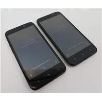 Dealer Lot Of 2 ZTE Maven 3 Z835 8GB AT&T GSM Android Smartphone Cell Phones