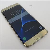 Samsung Galaxy S7 Edge SM-G935P Gold Android Phone 32GB - Sprint W/ Good IMEI