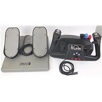 CH Products Eclipse Yoke 200-616 & CH Pro Pedals USB PPU995