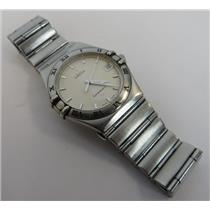 Omega Constellation 1552/862 Silver-Tone Stainless Steel Men's Wristwatch