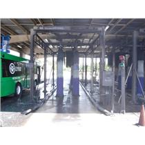 NS Wash System 3000 Vehicle Bus Truck Wash Equipment For Two Bays
