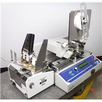 Rena T-750 In-Line Stamp Affixer Tabbing Machine w Easy-Feed Lite Feeder