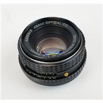 Asahi Optical SMC Pentax-M 1:2 50mm Lens