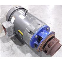 Baldor JMM3314T Electric Motor with Impeller Pump Head - UNTESTED