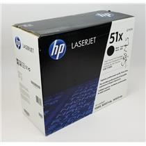 NEW Genuine OEM HP 51X Q7551X Black Toner High Volume Print Cartridge