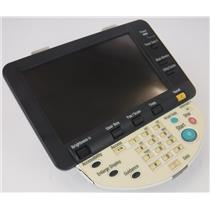 Konica Minolta Bizhub C360 Control Panel Display w Defect TESTED & WORKING