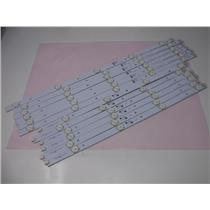 Element ELEFT481 LED TV Backlight Strips E169373 Set of 12 Strips