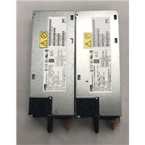 Lot of 2 IBM 43X3311 43X3312 Power Supply xSeries M4 Servers Power Supply FSA011