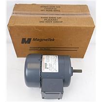 MagneTek Century AC Motor H524 1.0HP 200-230/460V 1275RPM 3.3-3.4/1.7Amps 60Hz