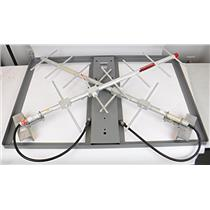 Lot of 2 Andrew Antennas 450-470MHz with 1 Winegard Roof Mount