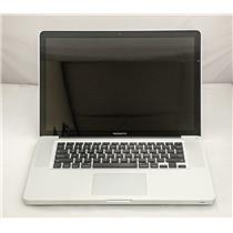 "Apple Macbook Pro MD318LL/A 15"" i7-2675QM 2.2GHz 320GB HDD 8GB A1286"